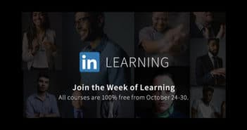 linkedin learning week