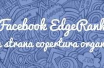 copertura organica edgerank facebook