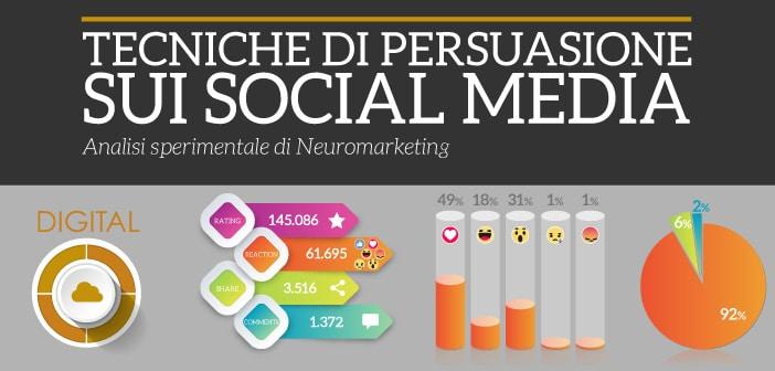 tecniche di persuasione sui social media settore digital