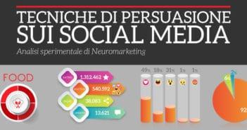tecniche di persuasione sui social media settore food