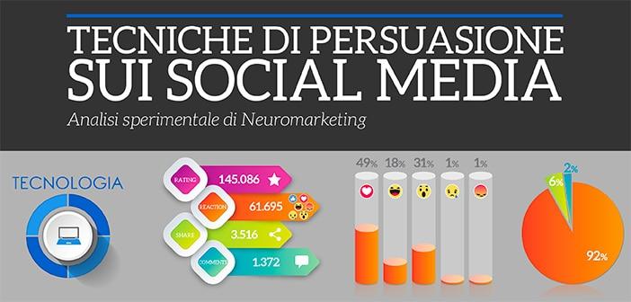 tecniche di persuasione sui social media