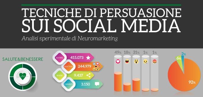 tecniche di persuasione sui social media settore salute e benessere