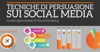 tecniche di persuasione sui social media settore viaggi e turismo