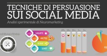 tecniche di persuasione sui social media settore industria