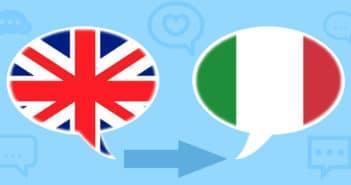 traduzioni dall'inglese all'italiano