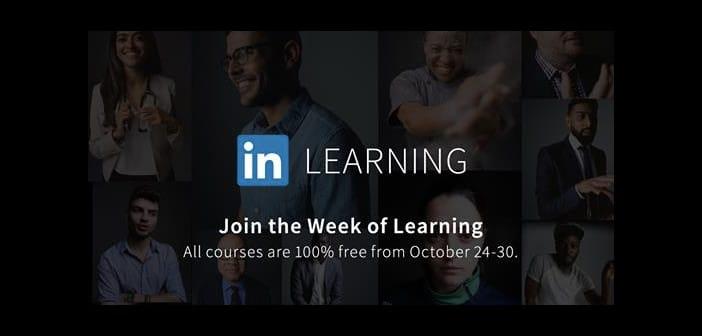 Linkedin Learning Week: Più di 9000 corsi gratis per una settimana