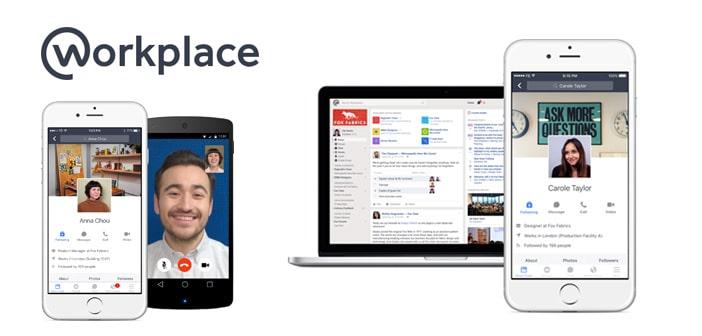 Workplace by Facebook cambia il tuo modo di lavorare