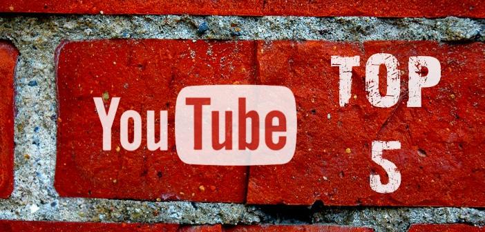 YouTube Top 5: Tendenze della settimana