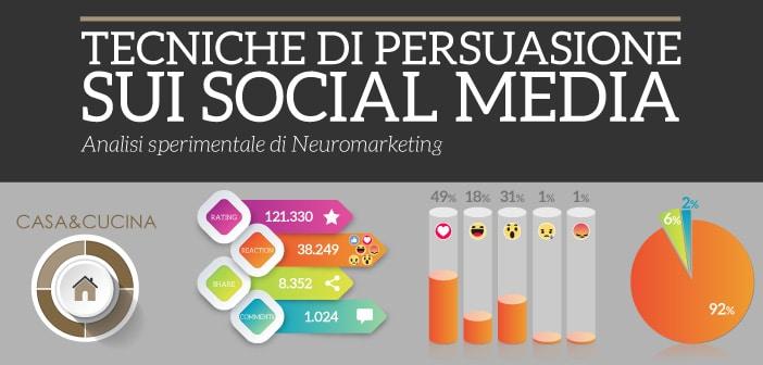 Tecniche di persuasione sui social media – Casa e Cucina