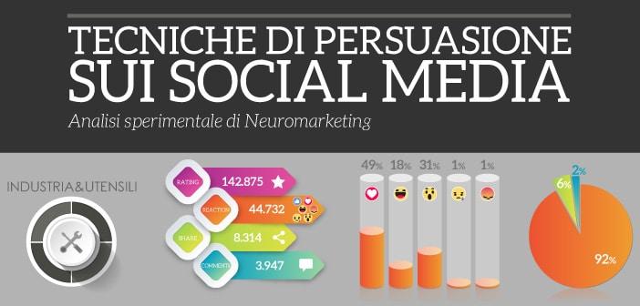 Tecniche di persuasione sui social media – Industria