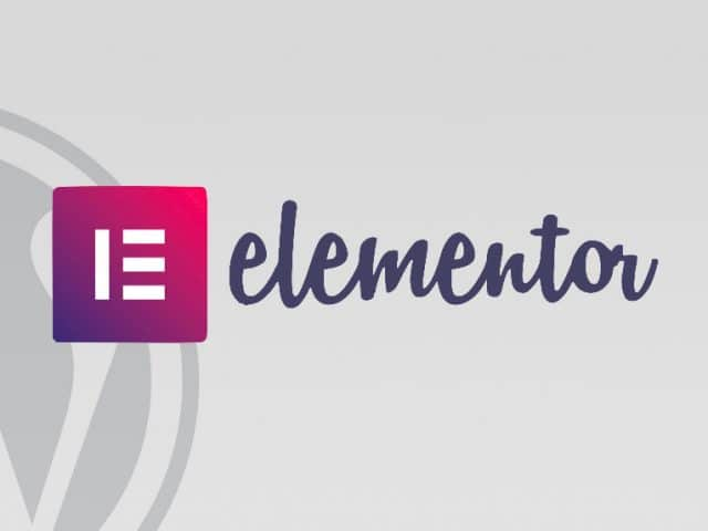 elementor page builder per wordpress