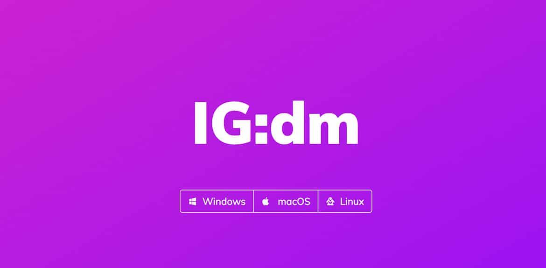 IGDM Instagram Direct