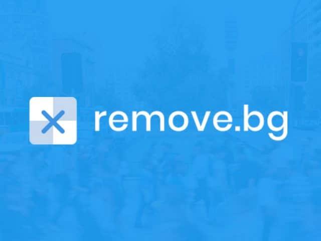 Remove.bg come rimuovere sfondi