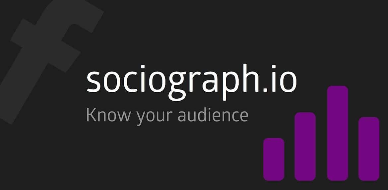 Sociograph il tuo Facebook Analytics personale