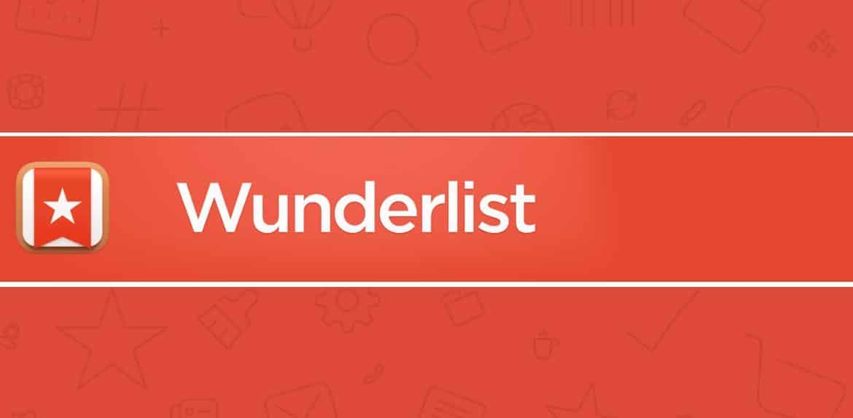 Wunderlist non dimenticherai più cosa fare