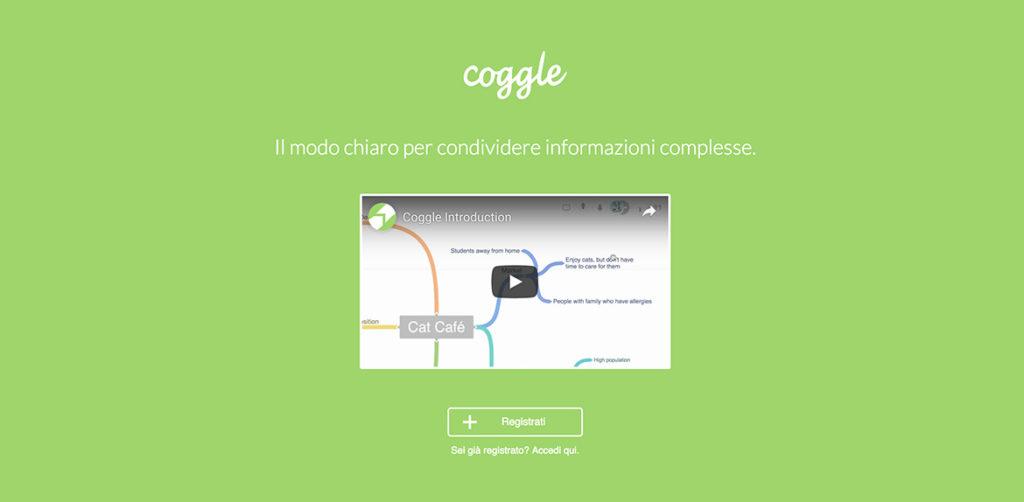 coggle mappe concettuali