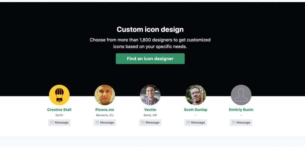 Iconfinder Icone Personalizzate